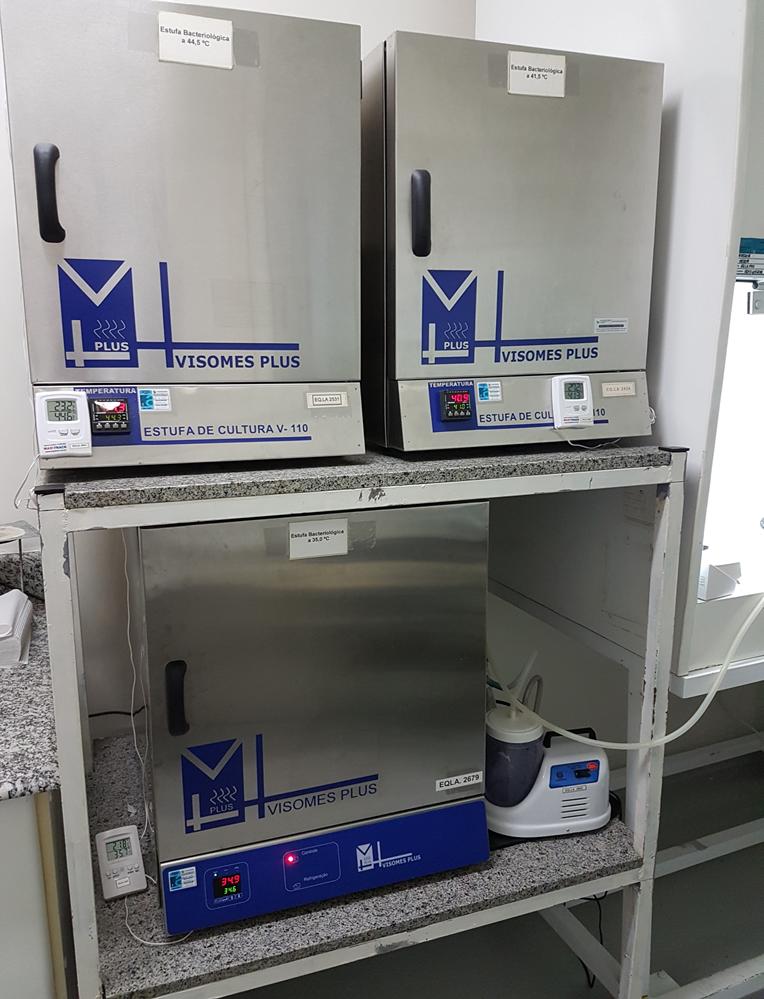 Laboratório de Microbiologia e Hidrobiologia