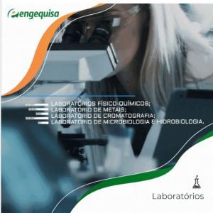 Laboratorio de analise microbiologica da agua