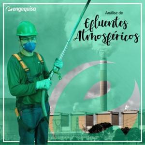 Medição emissões atmosféricas